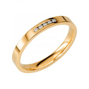 Schalins Vigselring Sign Of Love SR2037 18K Guld 0