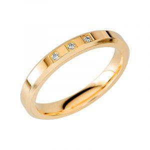 Schalins Vigselring Sign Of Love SR2052 18K Guld 0