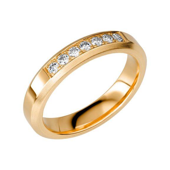 Schalins Vigselring Sign Of Love SR2054 18K Guld 0