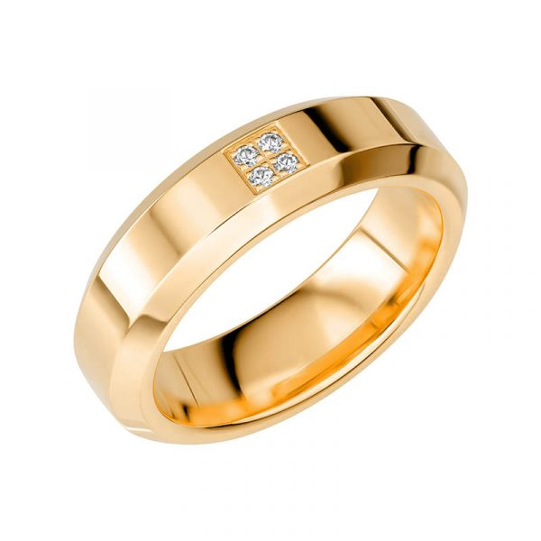 Schalins Vigselring Sign Of Love SR2056 18K Guld 0