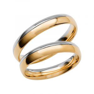 Schalins Förlovningsring Color Of Love SR3002 18K Guld/Vitguld  - TeBoon.se