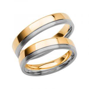 Schalins Förlovningsring Color Of Love SR3006 18K Guld/Vitguld  - TeBoon.se