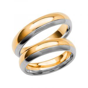Schalins Förlovningsring Color Of Love SR3008 18K Guld/Vitguld  - TeBoon.se
