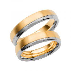 Schalins Förlovningsring Color Of Love SR3009 18K Guld/Vitguld  - TeBoon.se