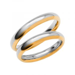 Schalins Förlovningsring Color Of Love SR3012 18K Guld/Vitguld  - TeBoon.se