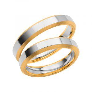 Schalins Förlovningsring Color Of Love SR3013 18K Guld/Vitguld  - TeBoon.se