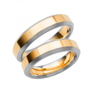 Schalins Förlovningsring Color Of Love SR3014 18K Guld/Vitguld  - TeBoon.se