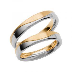 Schalins Förlovningsring Color Of Love SR3015 18K Guld/Vitguld  - TeBoon.se