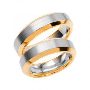 Schalins Förlovningsring Color Of Love SR3016 18K Guld/Vitguld  - TeBoon.se