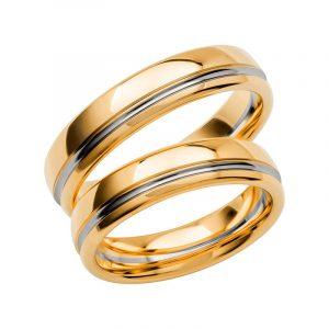 Schalins Förlovningsring Color Of Love SR3019 18K Guld/Vitguld  - TeBoon.se
