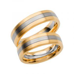 Schalins Förlovningsring Color Of Love SR3020 18K Guld/Vitguld  - TeBoon.se
