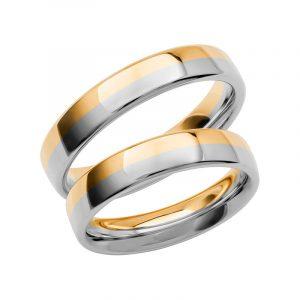 Schalins Förlovningsring Color Of Love SR3021 18K Guld/Vitguld  - TeBoon.se