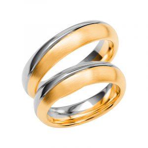 Schalins Förlovningsring Color Of Love SR3022 18K Guld/Vitguld  - TeBoon.se