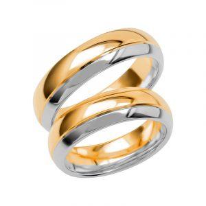 Schalins Förlovningsring Color Of Love SR3024 18K Guld/Vitguld  - TeBoon.se