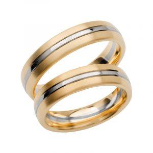 Schalins Förlovningsring Color Of Love SR3026 18K Guld/Vitguld  - TeBoon.se