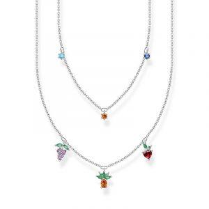 Halsband Färgglada Frukter Silver från Thomas Sabo