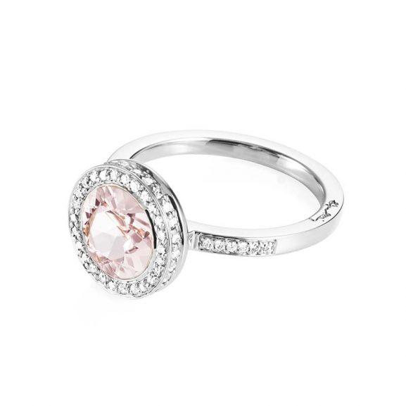 Halo Ring - Morganite Vitguld från Efva Attling