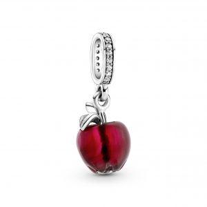 Hängberlock Rött Äpple Muranoglas från PANDORA
